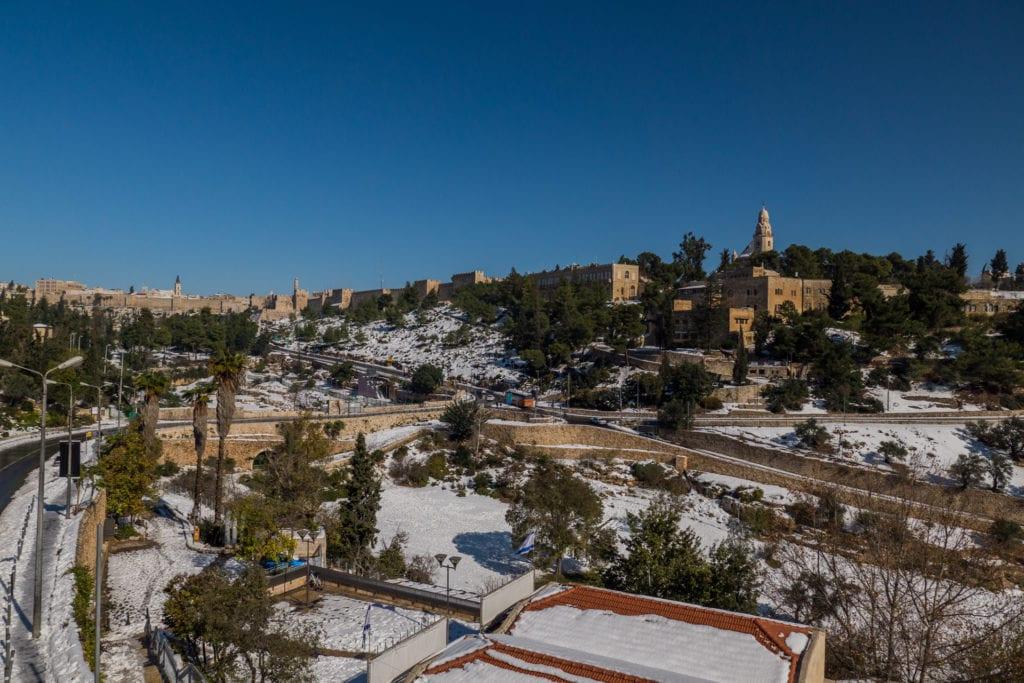 Film production in Jerusalem