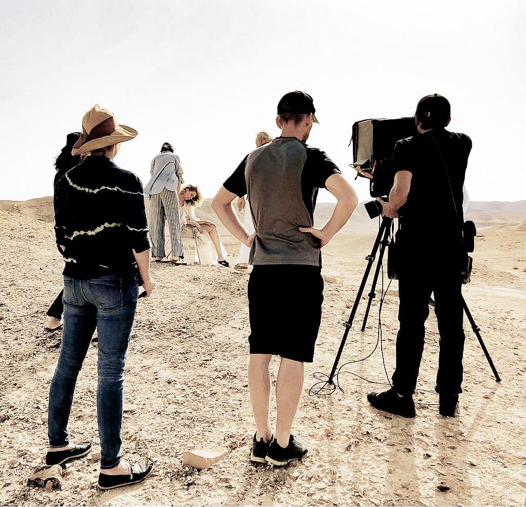 Maxim Magazin, Israel, Judean desert