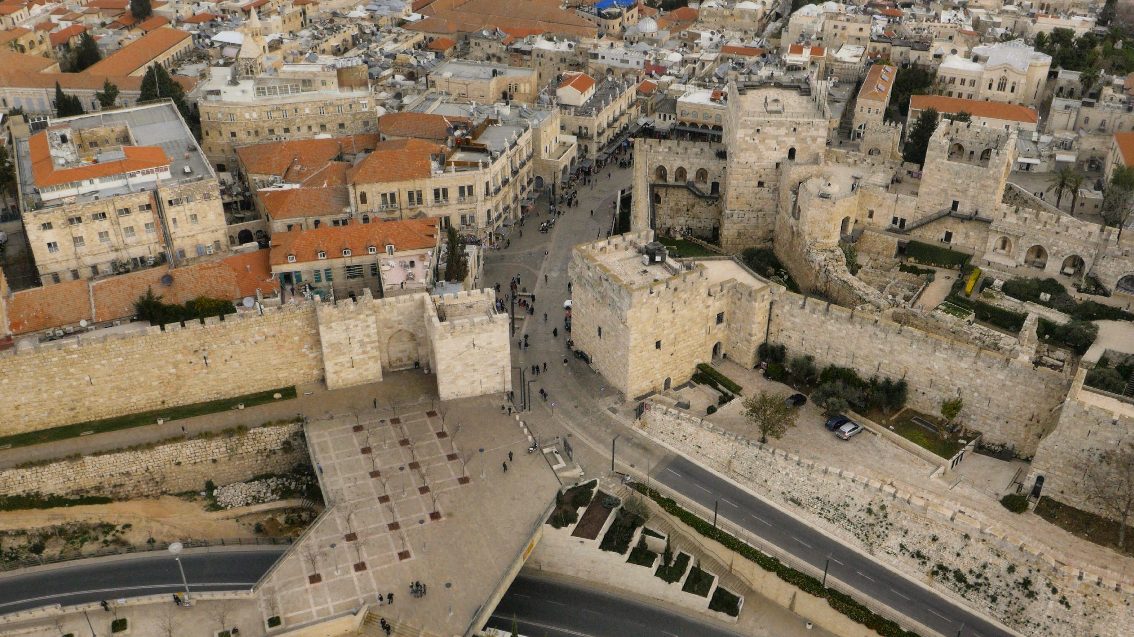 Drone filming in Israel