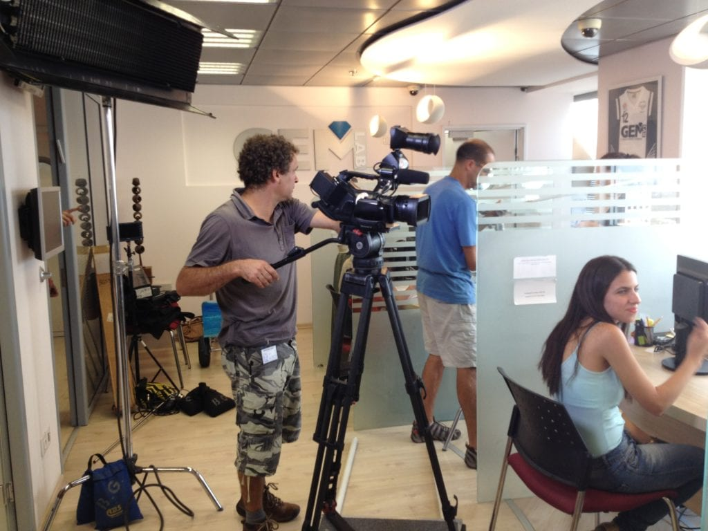 Corporate video production Israel